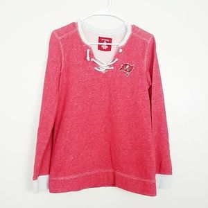 Tampa Bay Buccaneers Rumble Lace-Up Sweats #3950